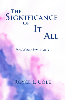 The Significance of It All Cover